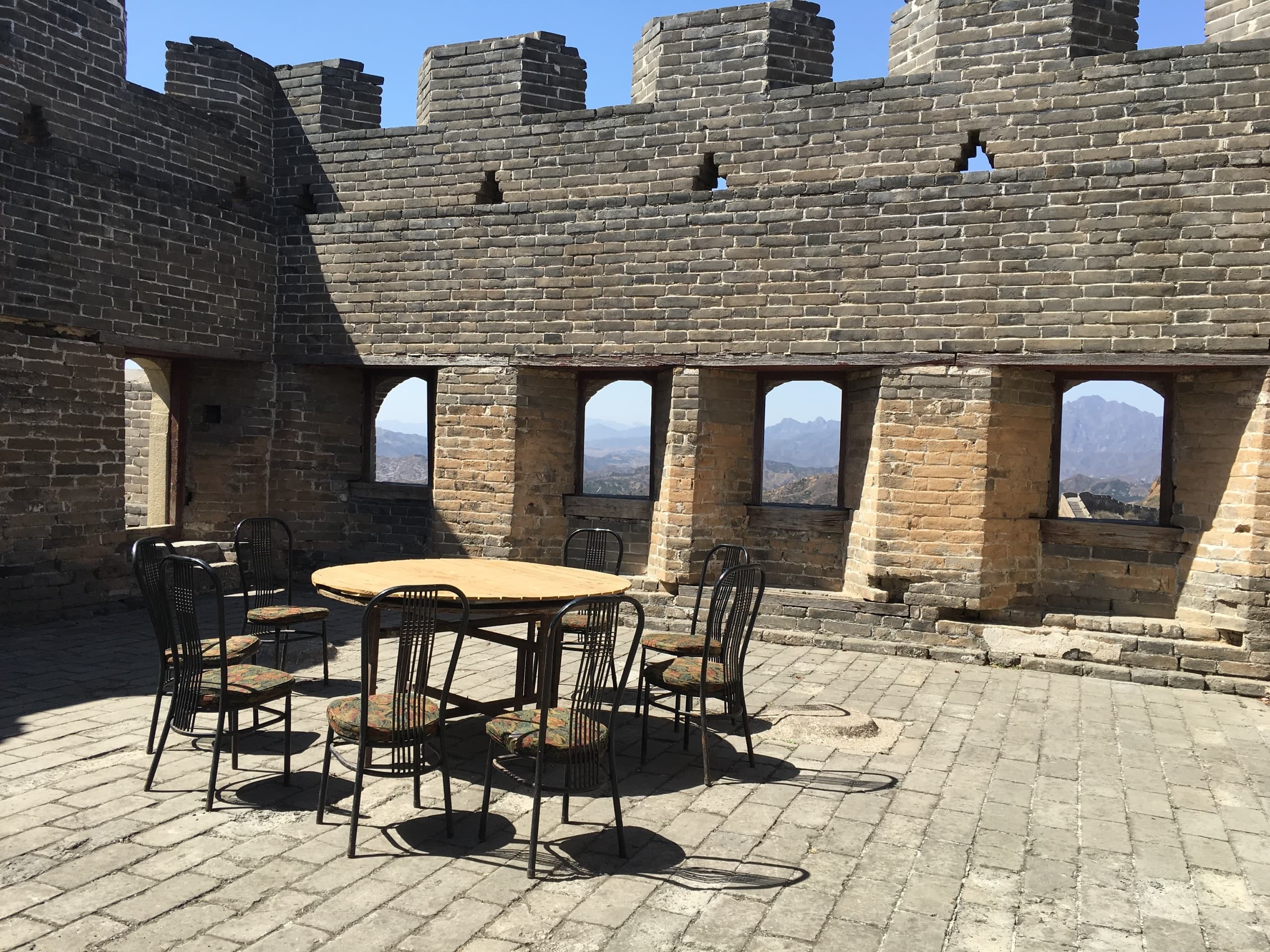Great Wall of China, Table for Eight